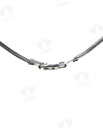 佛牌鏈 - 純銀材質