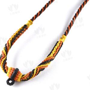 佛牌鏈 - 單扣/三扣粗蠟繩