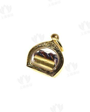 瑪哈蘇拉薩 - 純金洛卡塔符管 (永不缺錢符管)